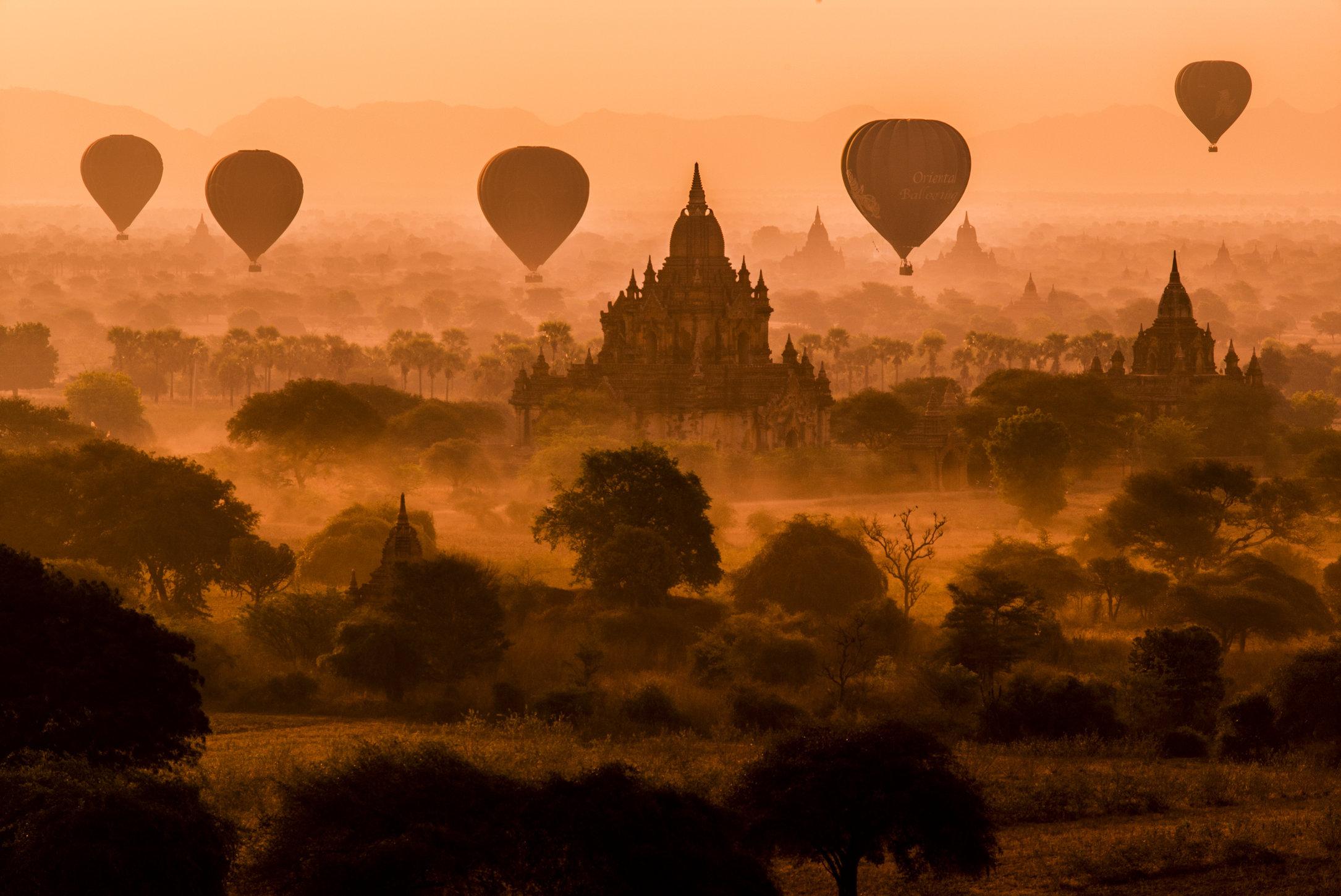 Bagan, Myanmar. 2015.
