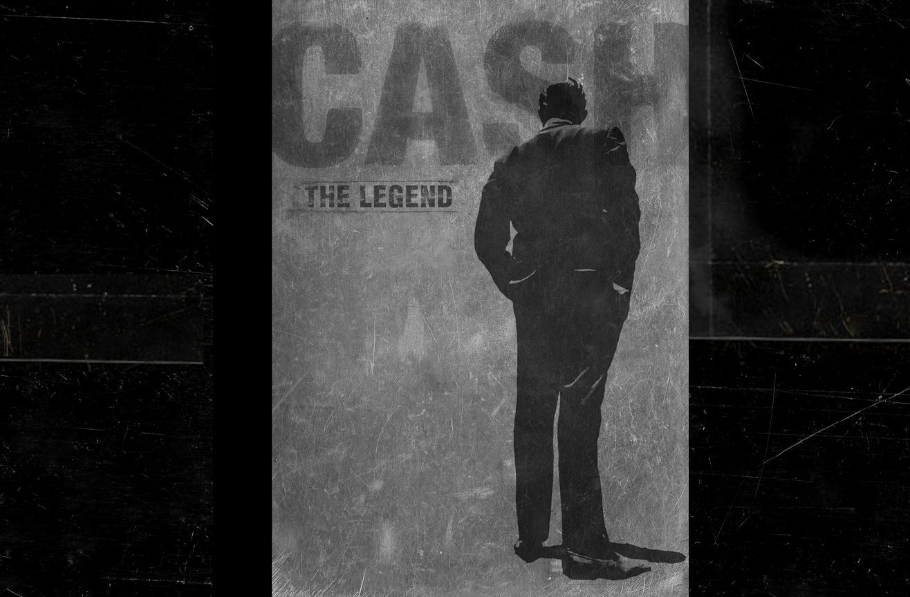 Cash : The Legend, book / music package