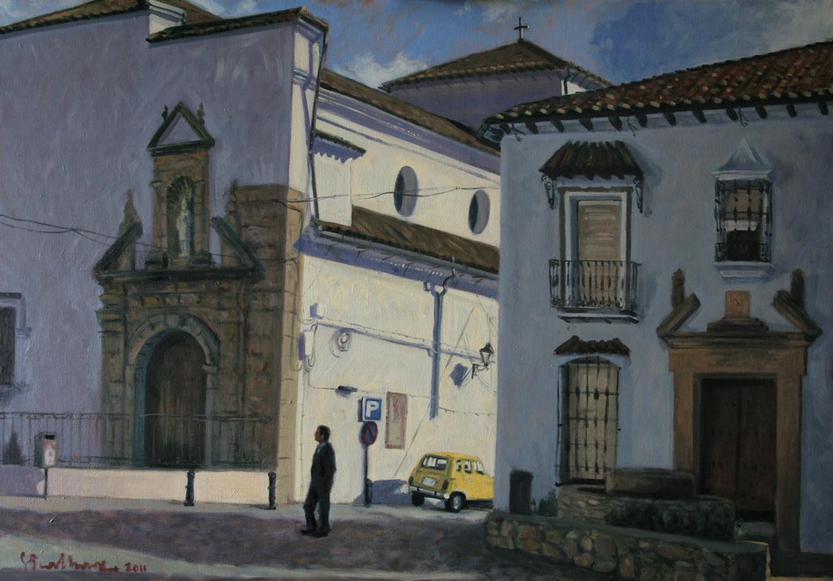 Grazalema, 100x80, olej płótno 2011