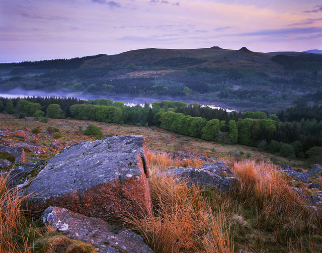 Burrator from Sheepstor