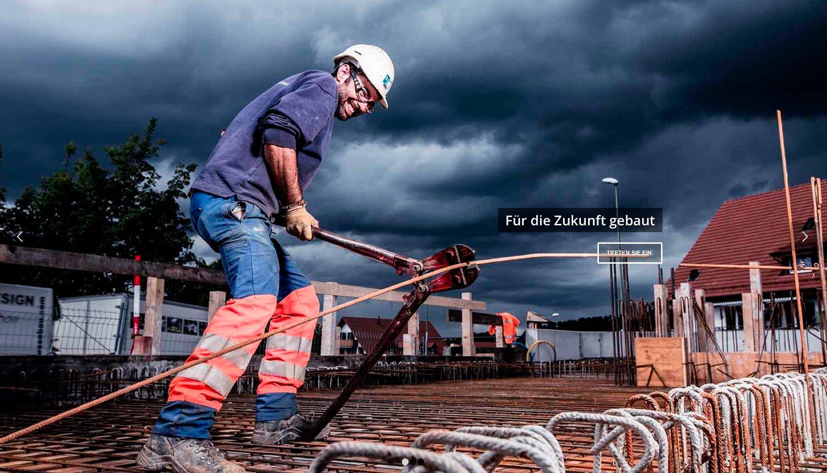 Website www.gasser-bau.ch