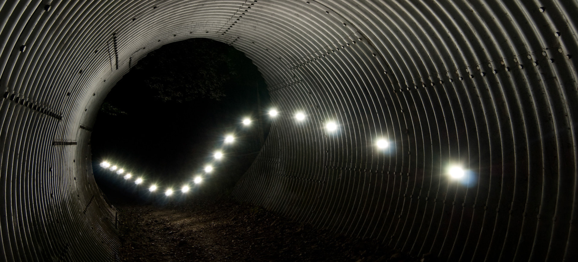Tunnel, Haute-Normandie, 2009