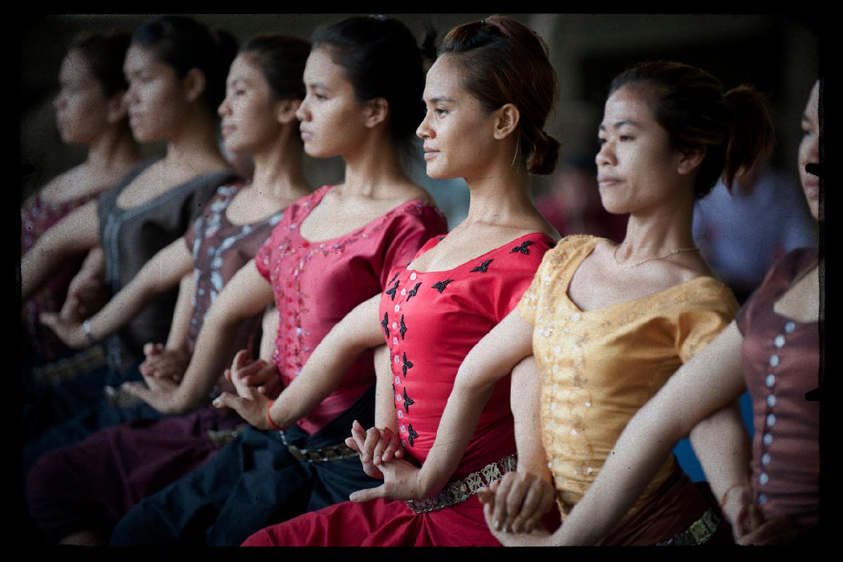 Ecole de Danse Khmer à Phnom-Phen