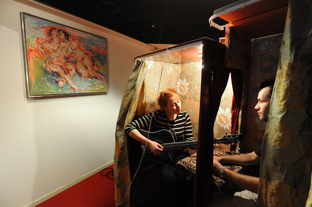 Privéconcert Merel Simons tijdens Kunstbende