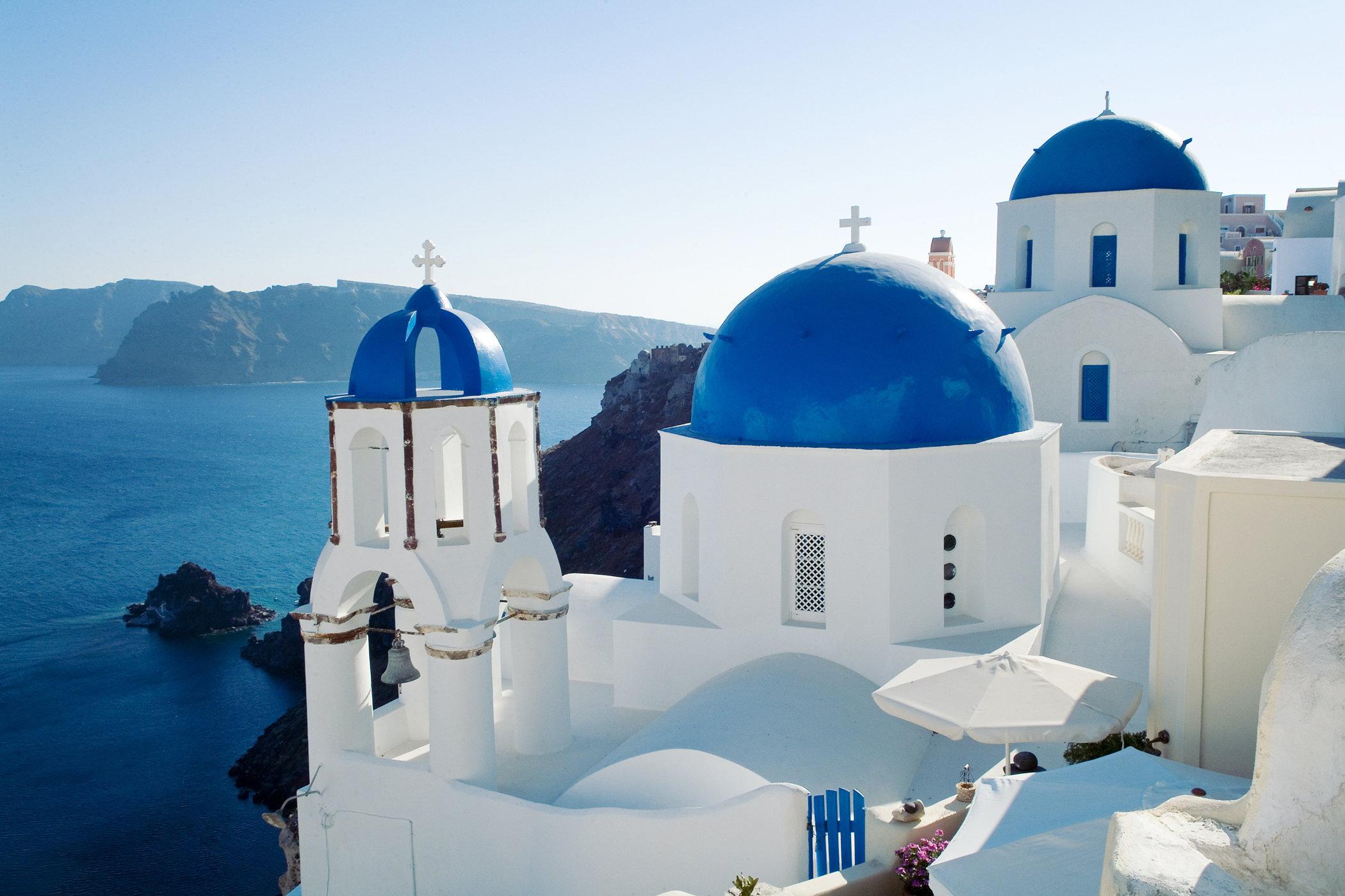Famous Blue Dome