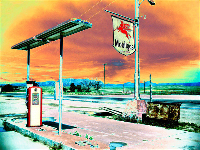 Mobilgas station