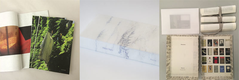 Hand-made artist books