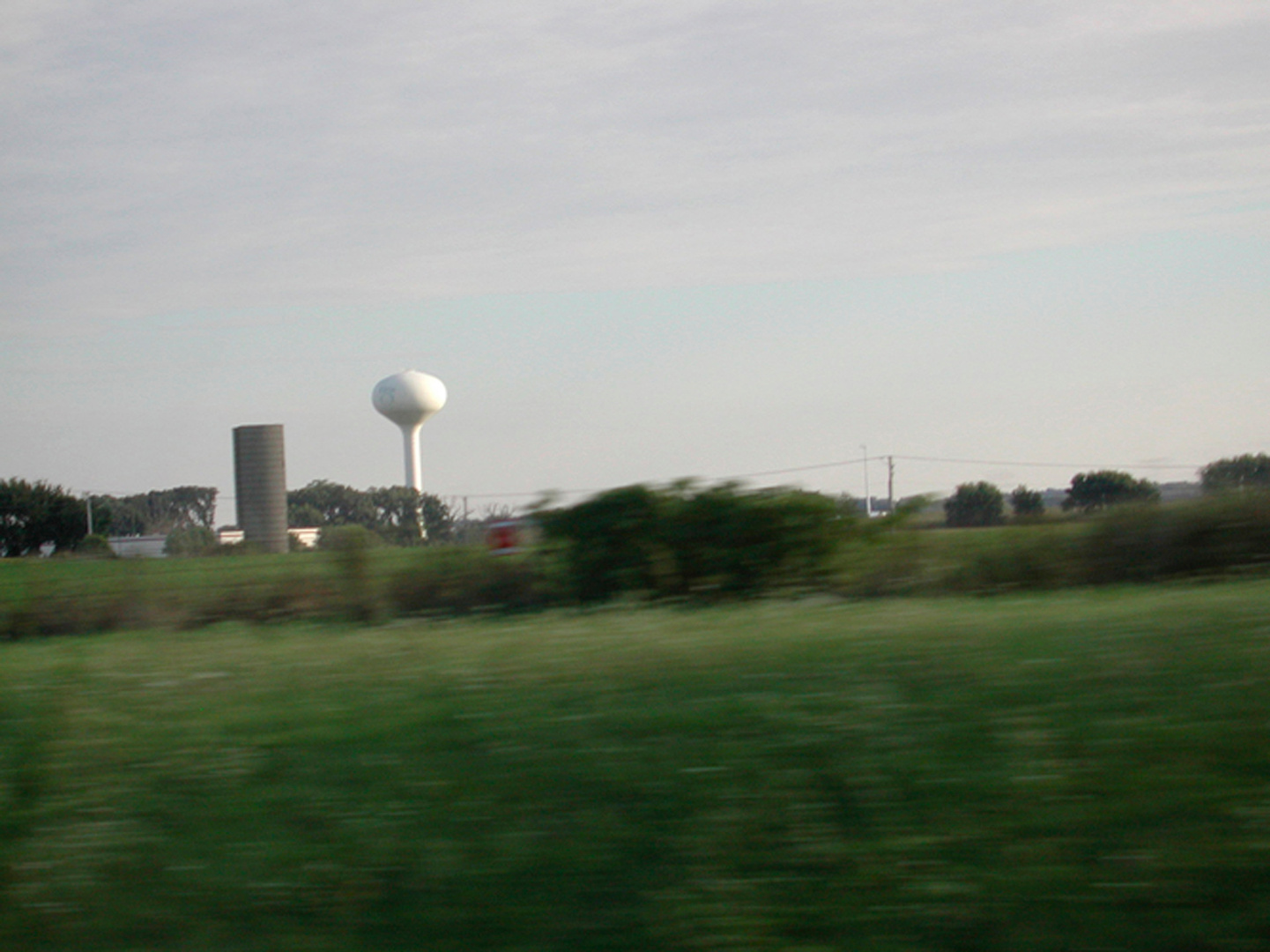 White Tower and Brown Silo