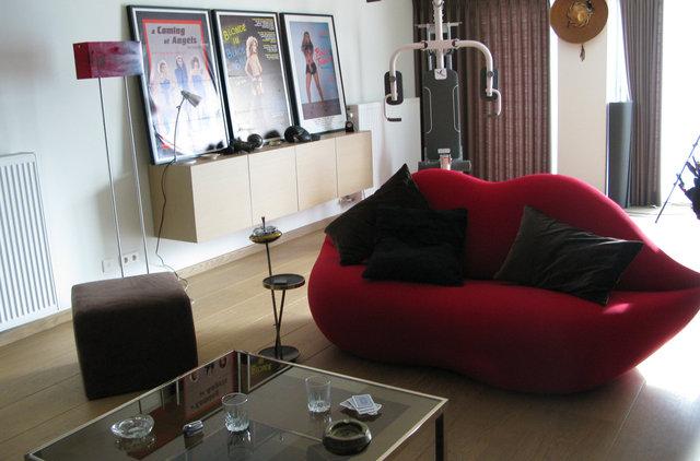 Dressed set - Inglis' Flat interior
