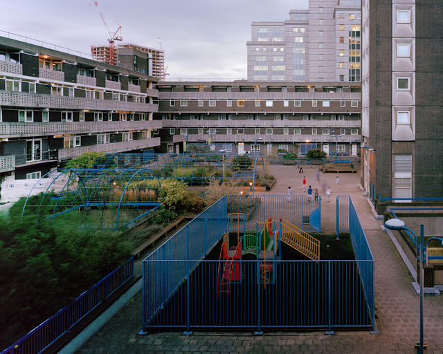 Playground, Middlesex Estate, Tower Hamlets, London, 2012