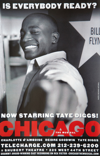 Taye Diggs in Chicago on Broadway
