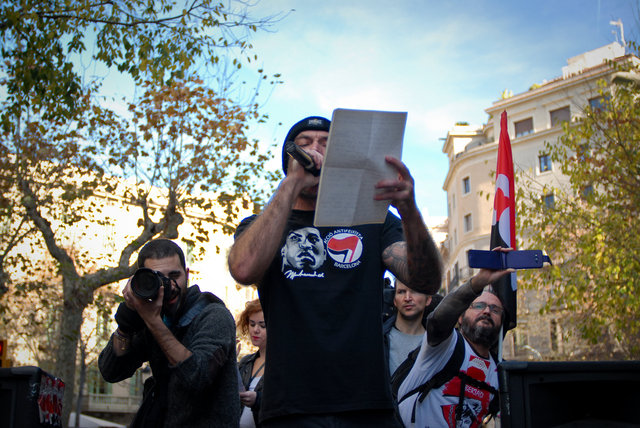 Juanra(KOP singer)speech against the new Spanish Gag law