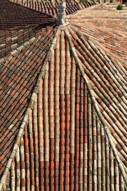 Telhado visto da Torre dos Sinos