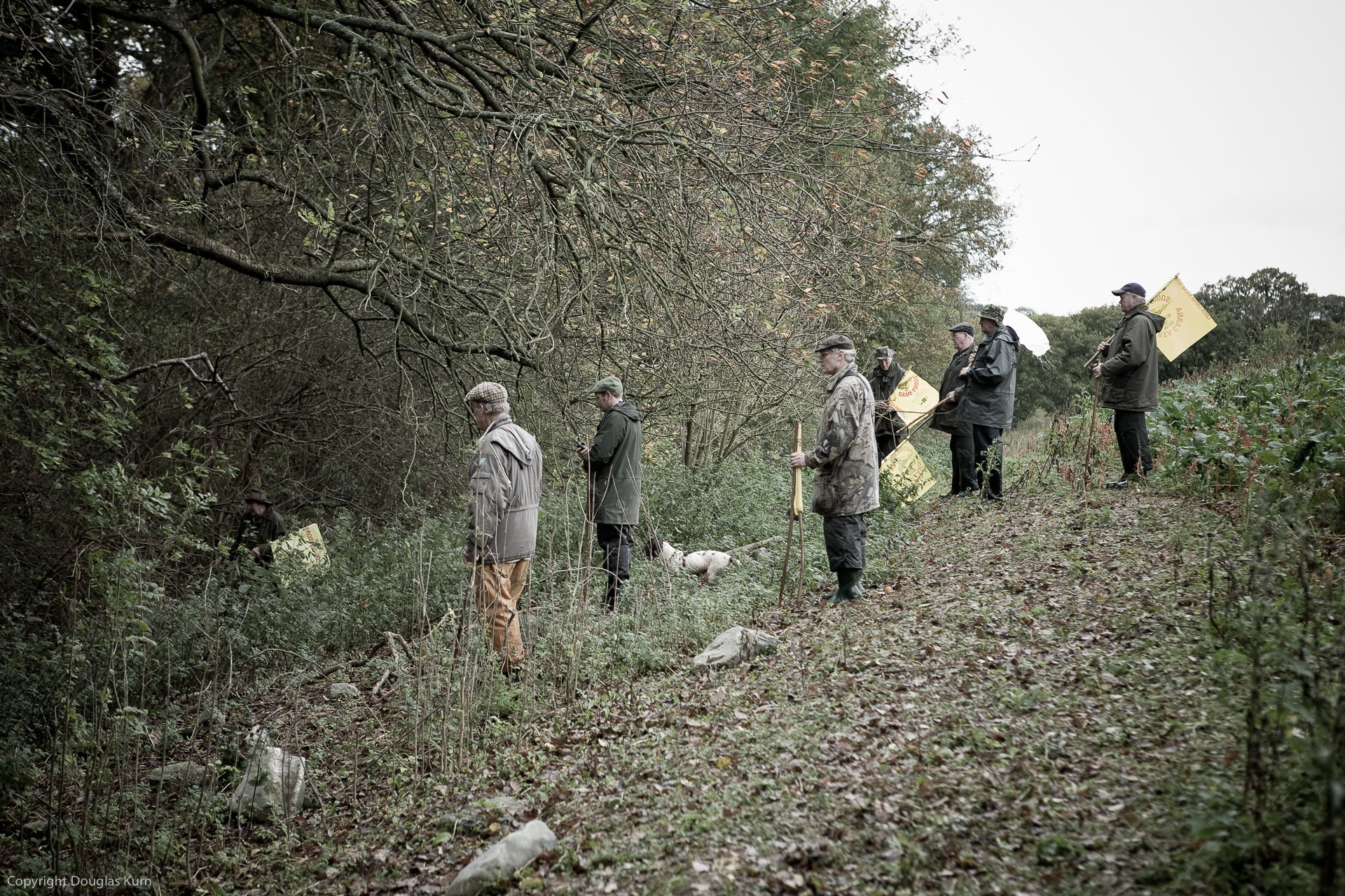 Nant Clwyd Shoot, November 3rd 2005
