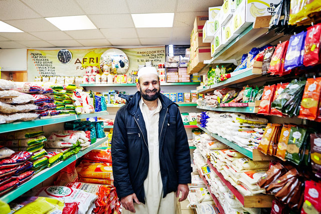 Talib, African Food Centre. Cricklewood Lane
