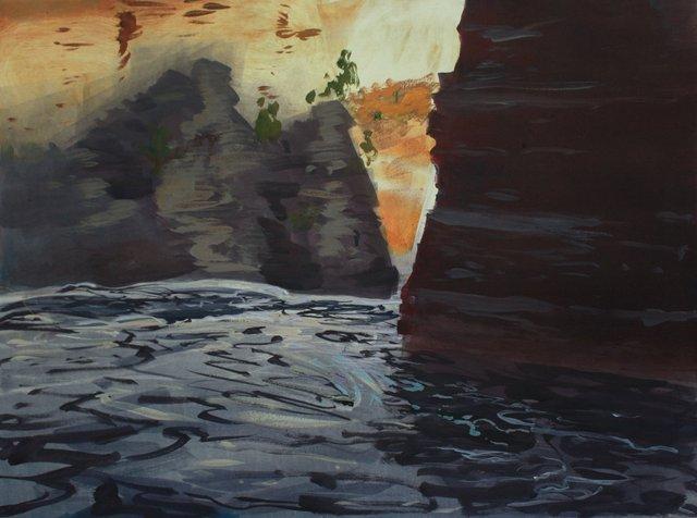 """Shady Gorge   22 x 29"""""""