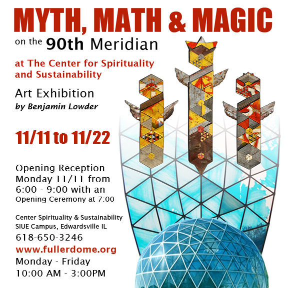 """Myth, Math & Magic on the 90th Meridian"""