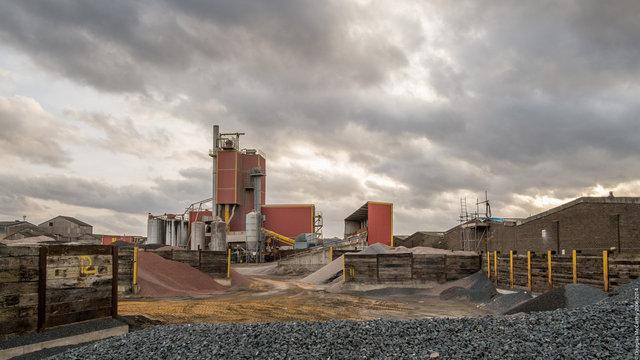 Aggregate plant, Erith, 2014