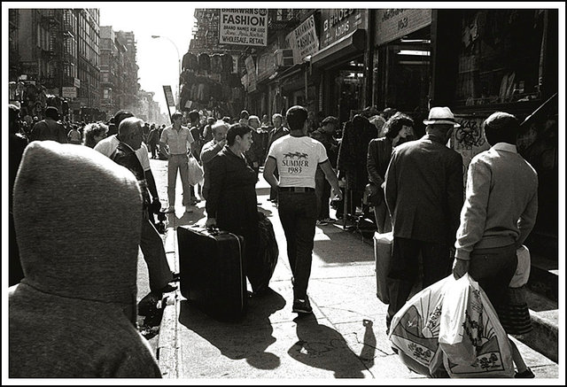 Canal street lower Manhattan 1-1983