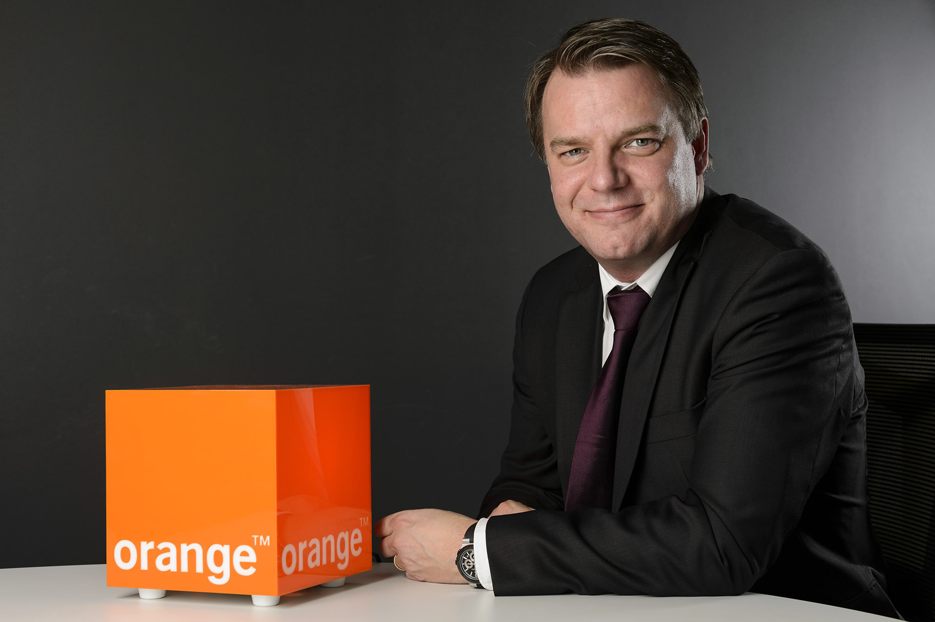 Johan Andsjo CEO Orange - Renens - 2013
