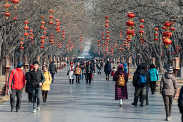 New Year,Temple of Heaven, Beijing