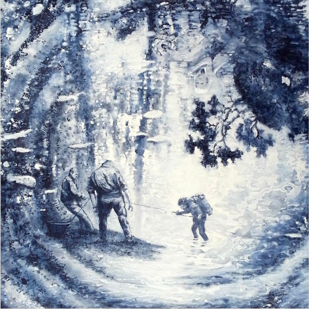 Patrick Bergsma, Deep Blue (Diep blaauw), 2014