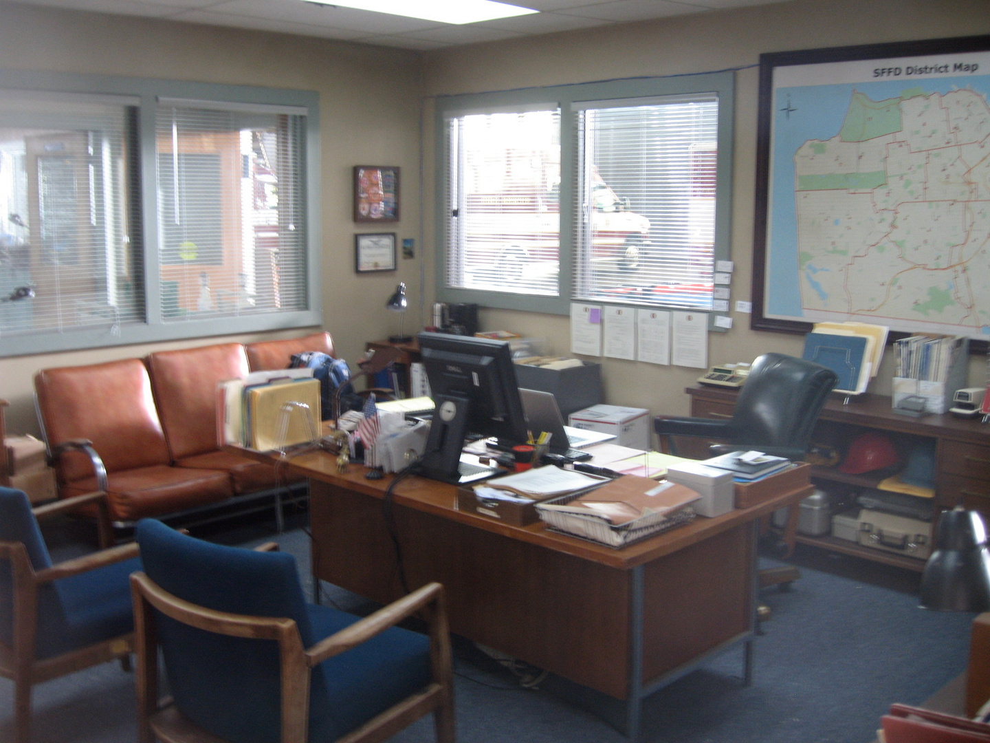 Station 4- Chief's Office