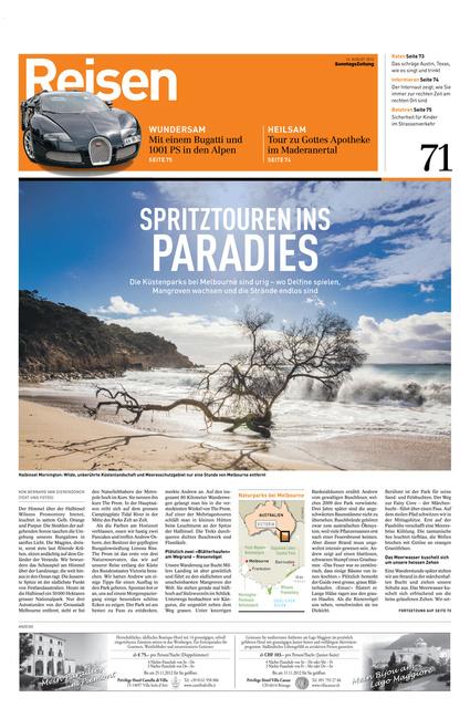 SonntagsZeitung August 2012