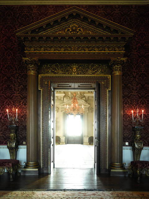 Houghton Hall Stonehall Doorway - Before Part 2