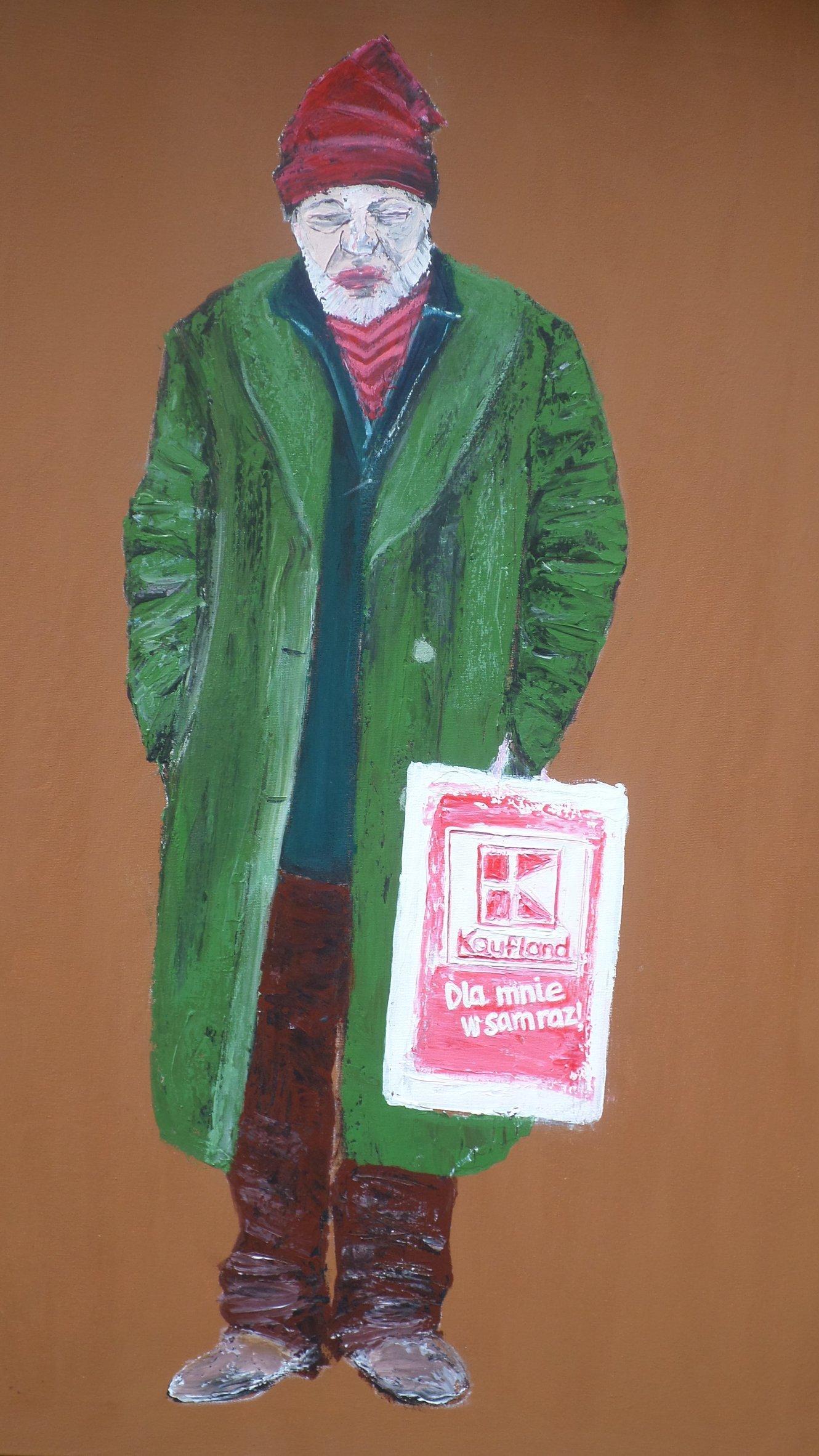 Hobo 3, 80x60 akryl płótno 2014