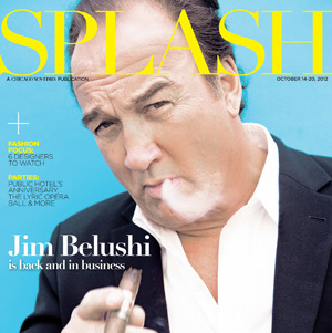 Cover of Splash Magazine, Actor Jim Belushi