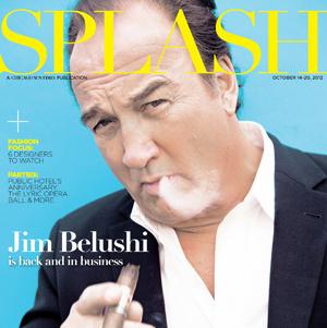 Cover of Splash Magazine, Actor Jim Belushi