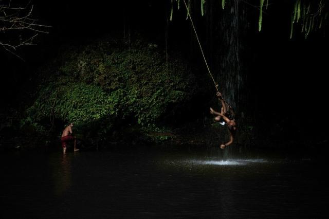 Banho em Twin Falls