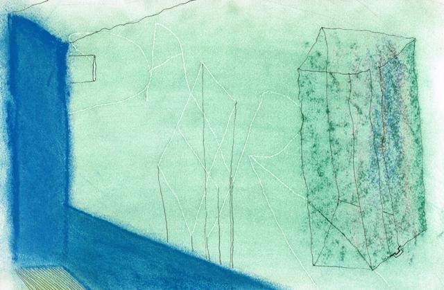Zonder Titel, 2013  16,3 x 24,9 cm