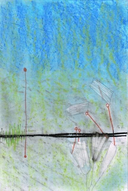 Zonder Titel, 2010  21,7 x 32,5 cm
