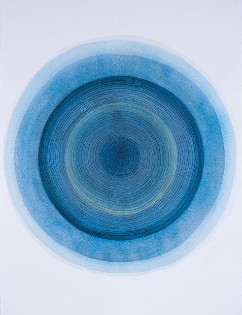 'Spiral - Blue 2'