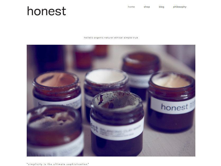 HONEST Skincare www.honestskincare.co.uk