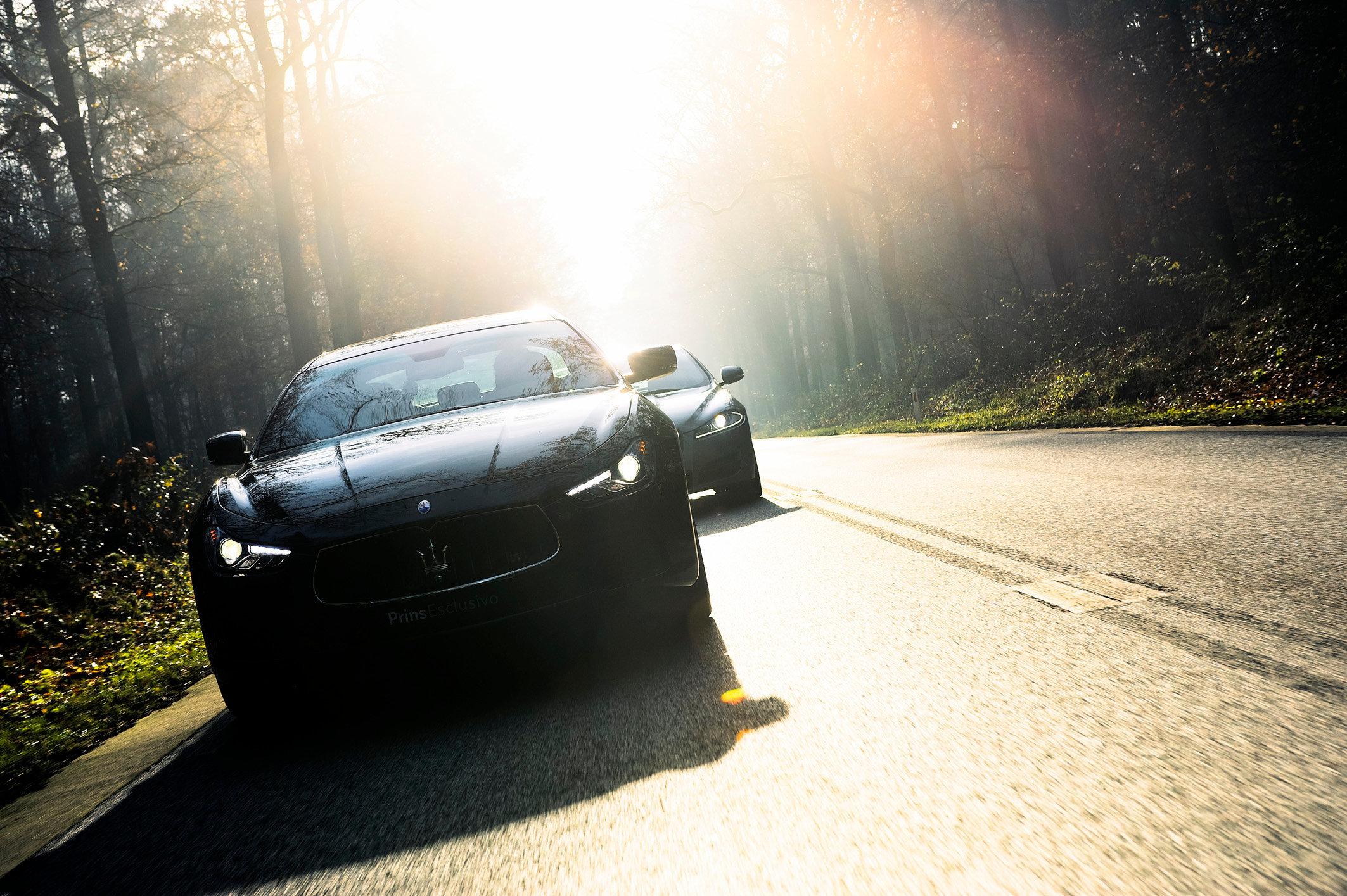 Maserati Ghibli & Jaguar XF