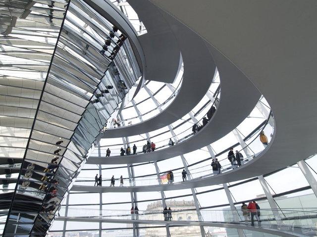 berlijn - de reichstag koepel