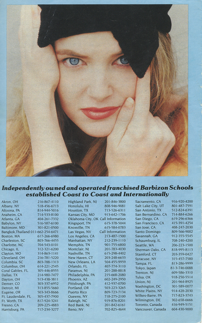 BARBIZON HANDBOOK BACK COVER