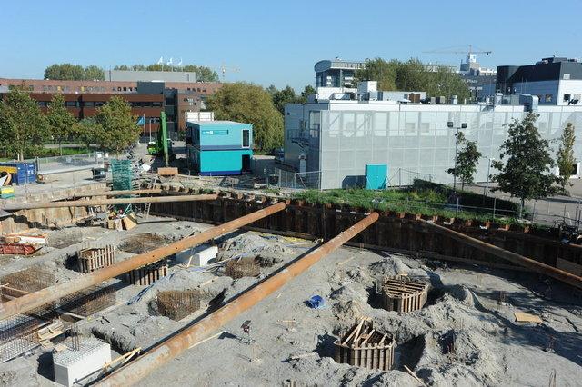 bouwvoortgang CHDR fundering