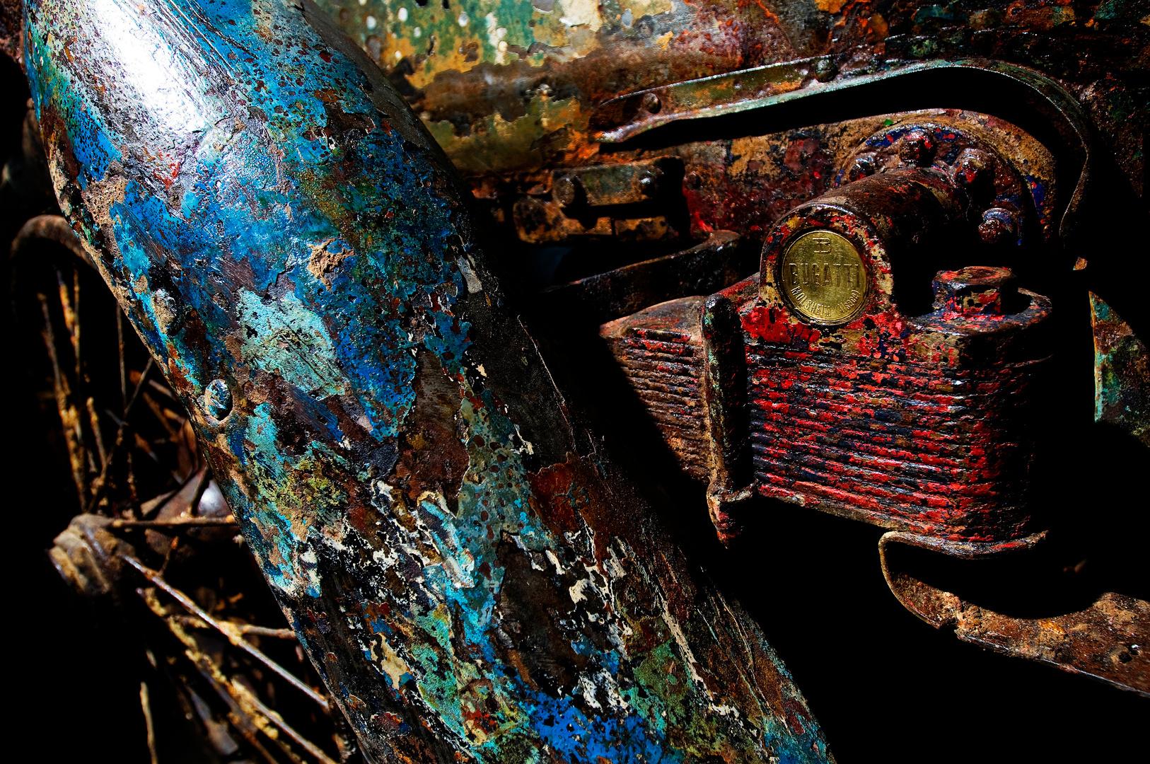 """Verdronken Bugatti """"Lago Maggiore"""