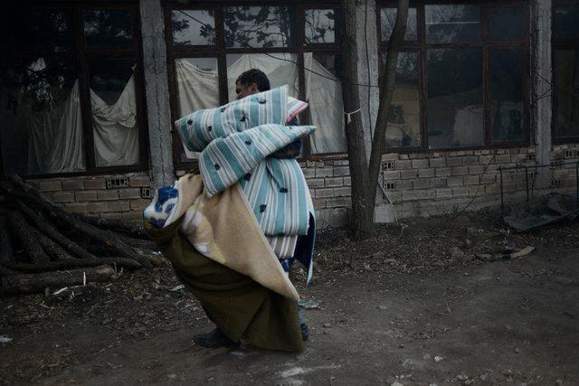 Syrian refugee in Harmanli, Bulgaria