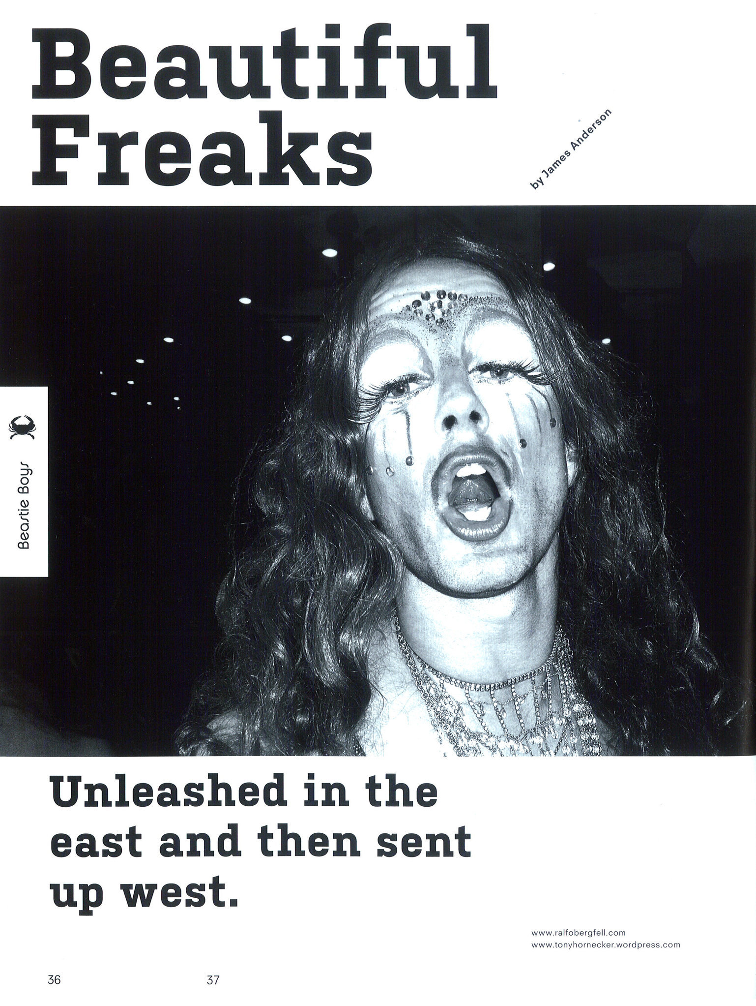 B.EAST, Issue 12, ''Beautiful Freaks'', Ralf Obergfell - Beautiful Freaks.jpg