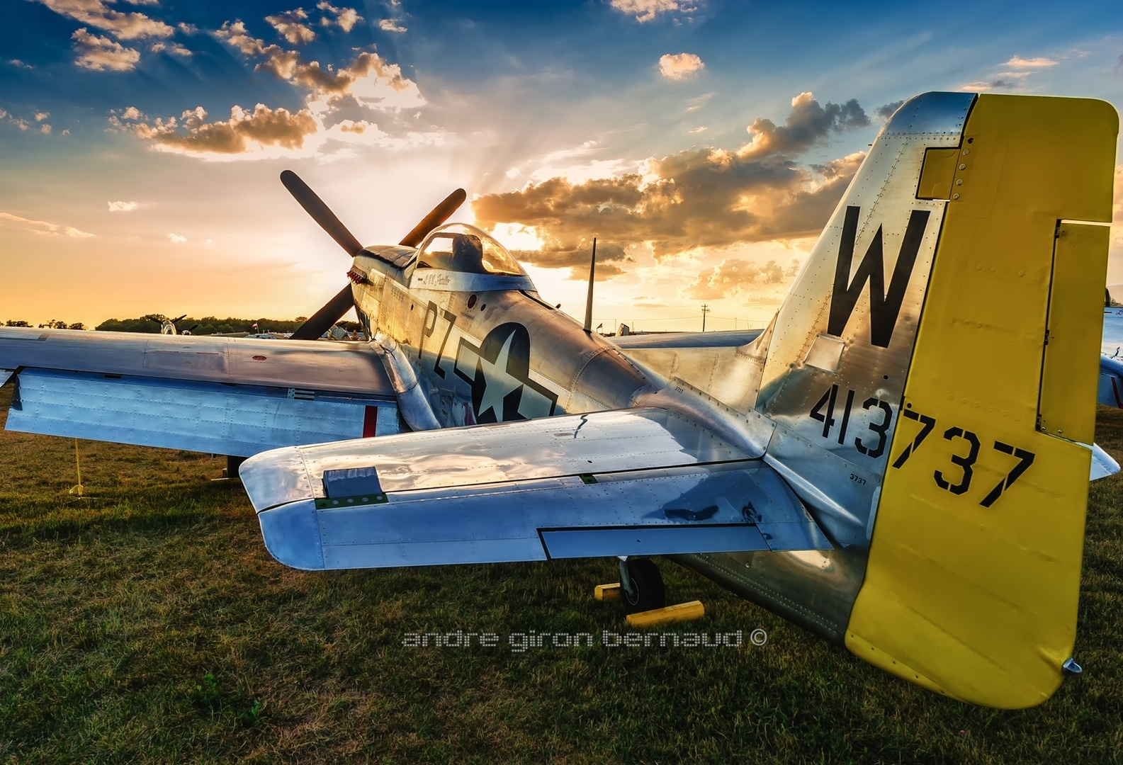 North American P-51 Mustang Little Rebel 413737 N5551D