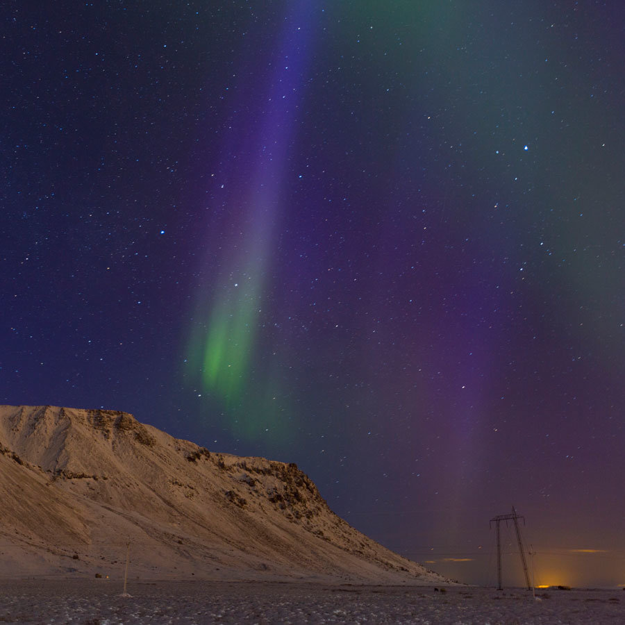 """64˚57'16.0""""N, 21˚2'30.1""""W - Iceland"""