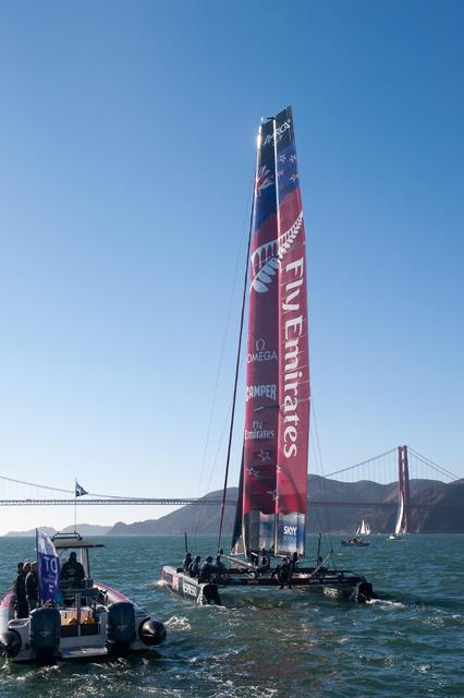 AC45 Emirates Team, New Zealand