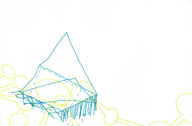 Zonder Titel, 2012  25 x 37,5 cm