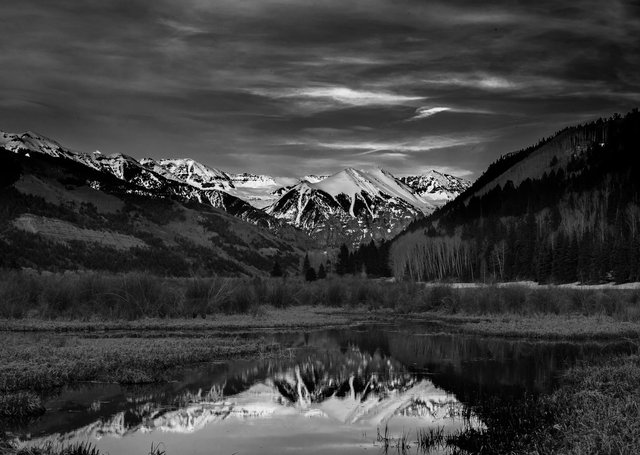 Ajax Mountain Reflections
