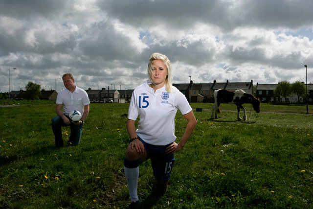 Steph Houghton, England Footballer & Father